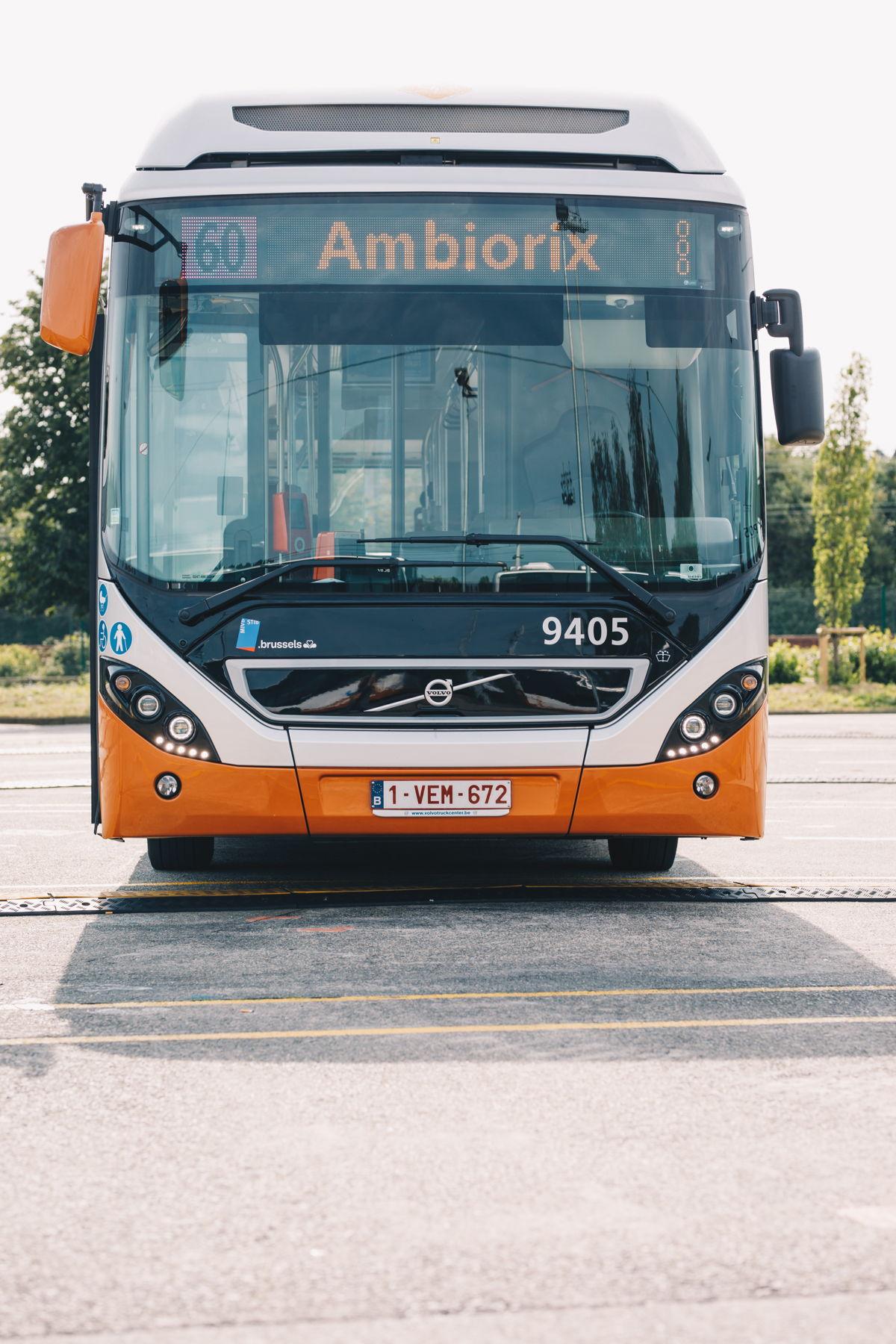 Volvo Bus hybride standard