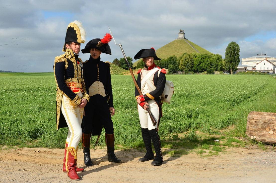 Waterloo 2015 - Re-enactors