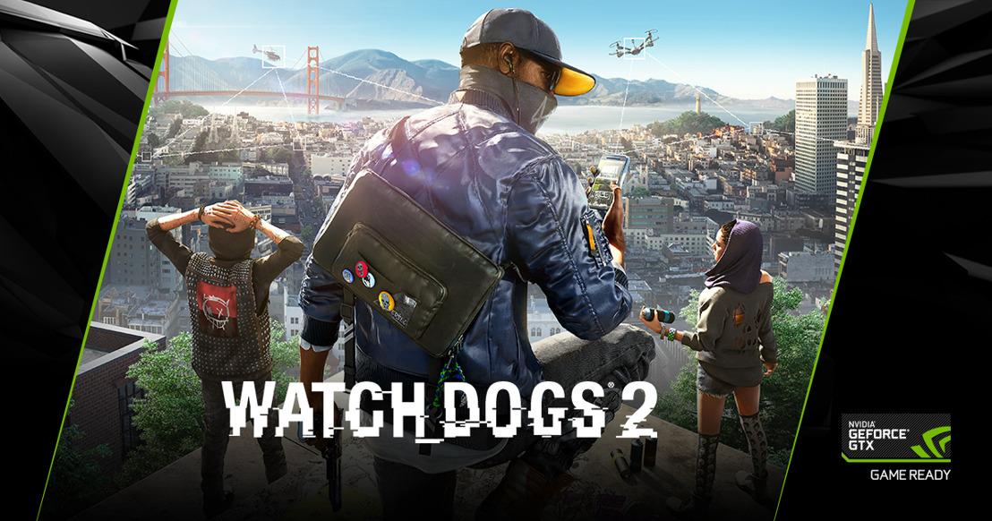 Watch Dogs 2 kostenlos mit GeForce GTX