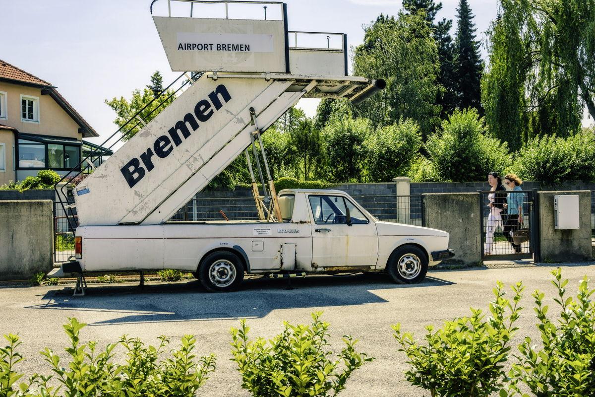La variante del Caddy como rampa de aeropuerto sólo se construyó en tres ocasiones, Josef Juza tiene dos.