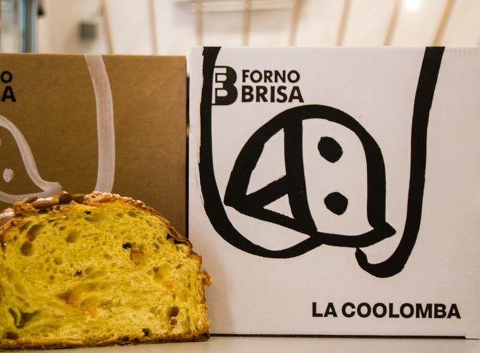 Nasce la COOLomba: il nuovo lievitato cool firmato da Forno Brisa e dall'artista Pea Brain