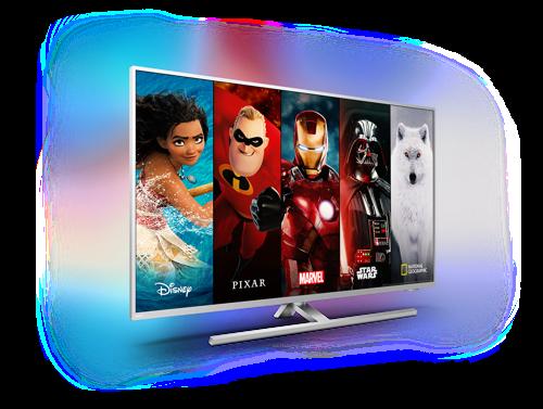 Disney+ nu beschikbaar op Philips Ambilight Android tv's