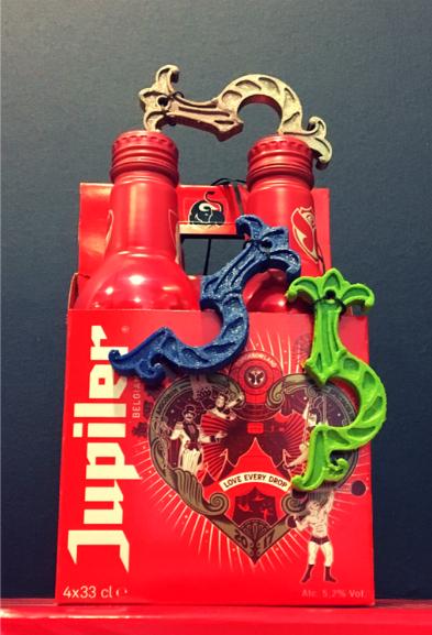Jupiler - Recycled bottle openers