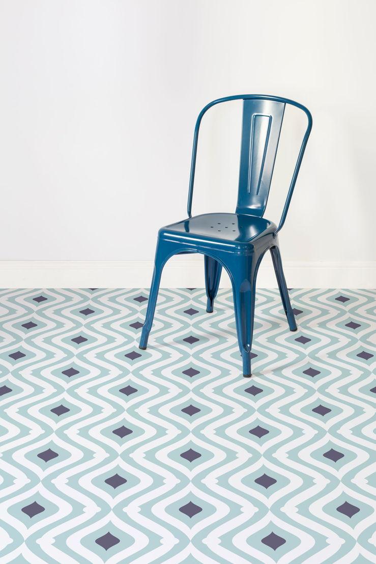 Wave |   <br/>Teardrop Pattern Flooring