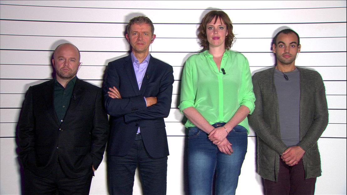 Aflevering 11 (12 jan): Sven De Ridder, Frank Deboosere, Liesa Naert en Kamal Kharmach<br/>De allesweter (c) VRT