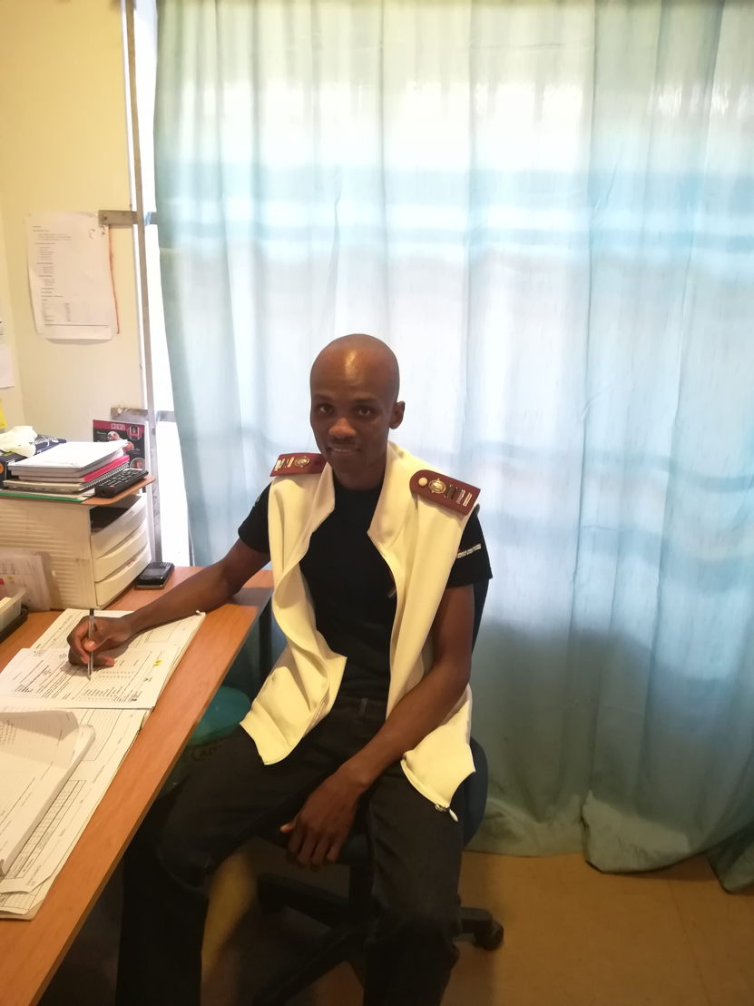 Velaphi Bhengu, Clinical Nurse -  Eshowe. Photographer: MSF