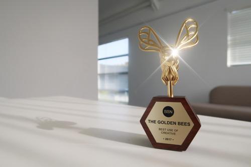 ARK Communication remporte le Golden Bee Award pour l'Expédition eneloop 2100