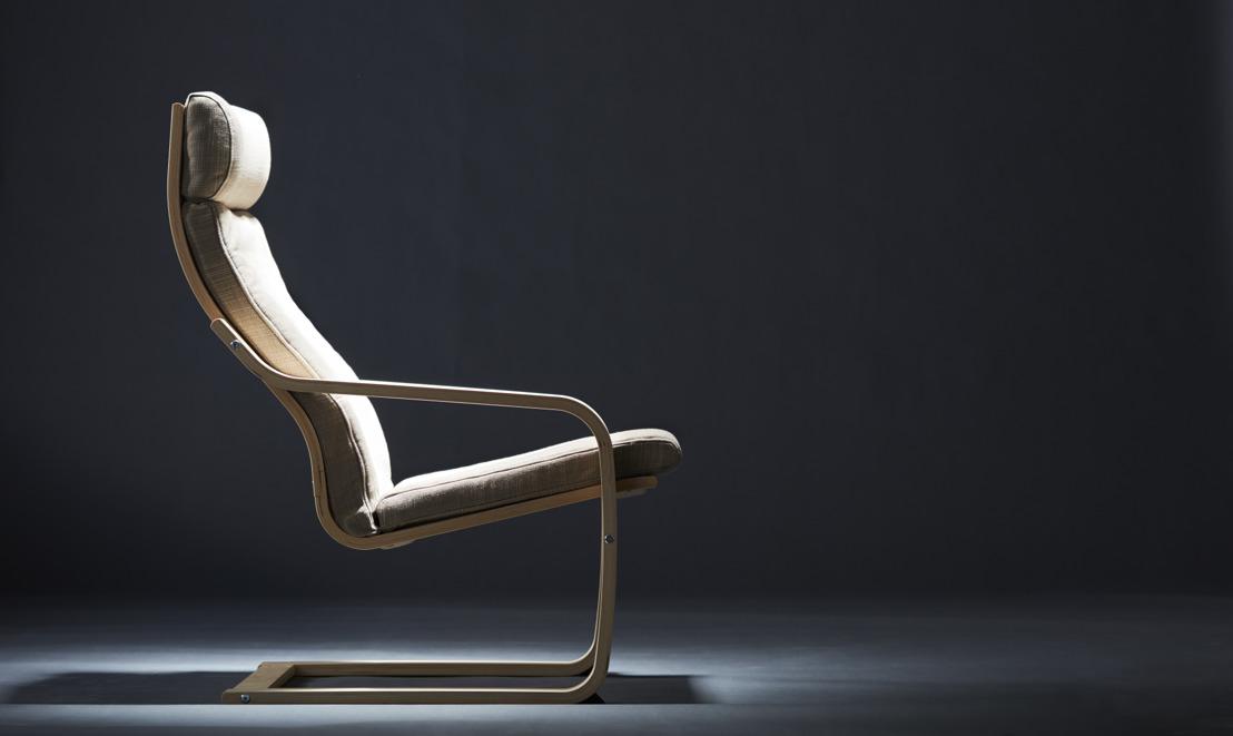 40 jaar iconisch comfort en stijl; de POÄNG fauteuil