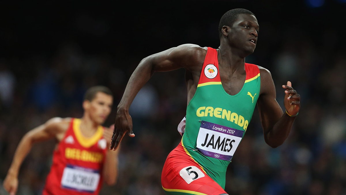 Kirani James of Grenada. Picture by Getty Images.