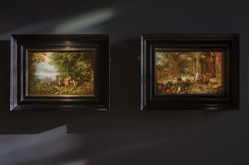 Zicht op de allegorieën van Jan Breughel I particuliere verzameling Frankrijk foto Ans Brys
