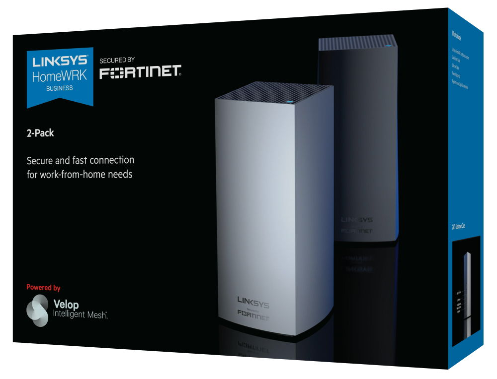 Linksys HomeWRK for Business   Secured by Fortinet