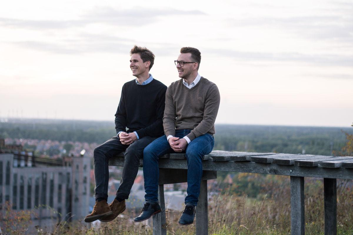 Thomas Celen & Wouter Schoofs, founders of Zapfloor