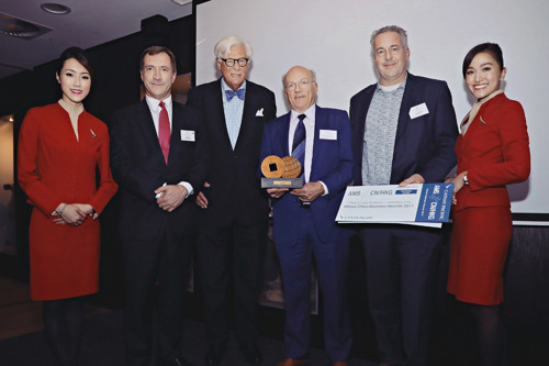 ProductIP wint de Cathay Pacific China Business Award 2017 en Reconergy wint Hong Kong Shooting Star