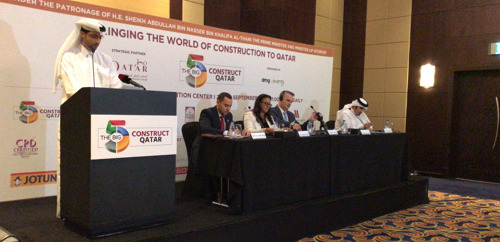 تحت الرعاية الكريمة لمعالي الشيخ عبدالله بن ناصر بن خليفة آل ثاني، رئيس مجلس الوزراء ووزير الداخلية انطلاق معرض مواد البناء THE BIG 5 CONSTRUCT QATAR