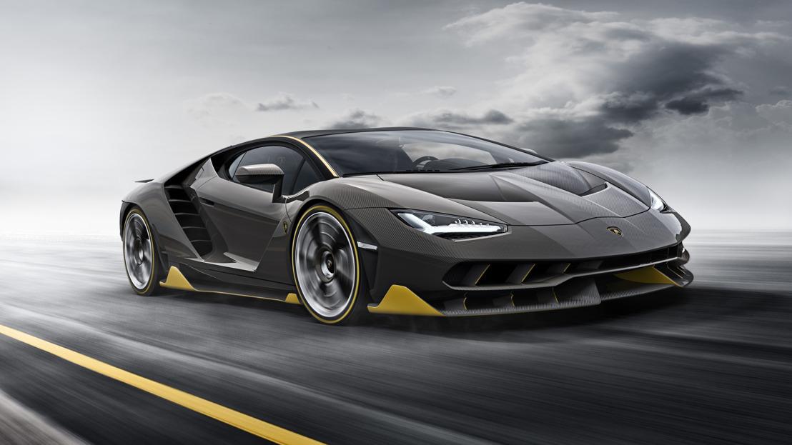 La Lamborghini Centenario