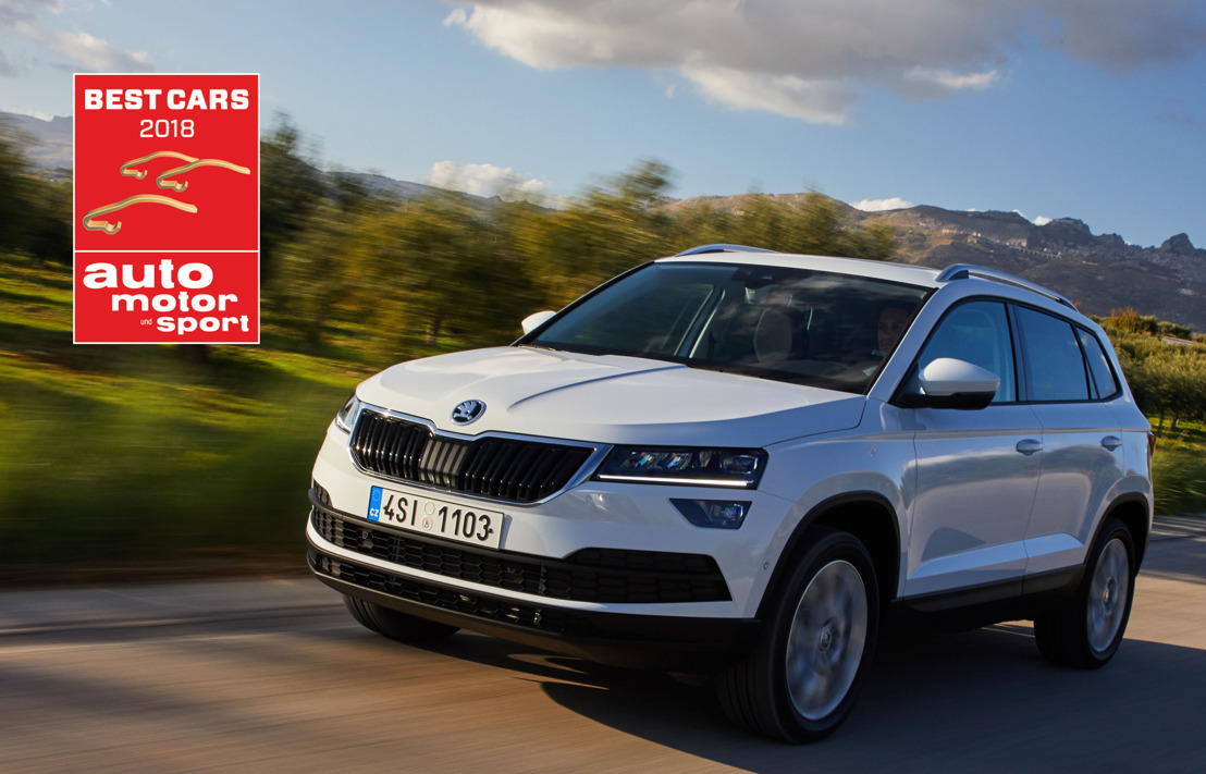 Double victory for ŠKODA at the 'Best Cars 2018'