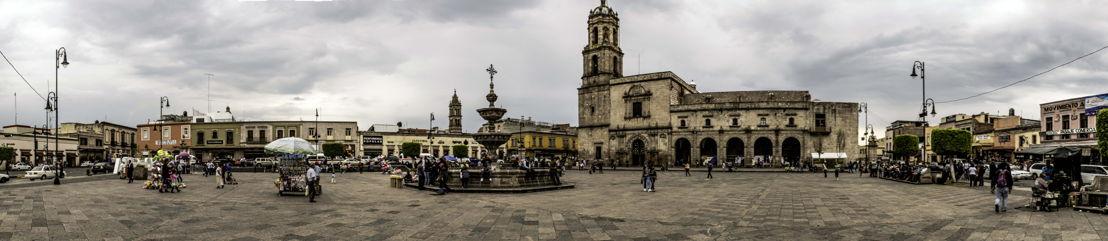Plaza Valladolid en Morelia