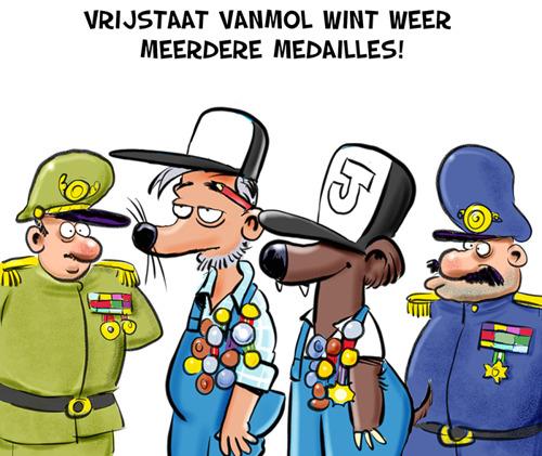 Vrijstaat Vanmol wint drie medailles op internationaal bierconcours