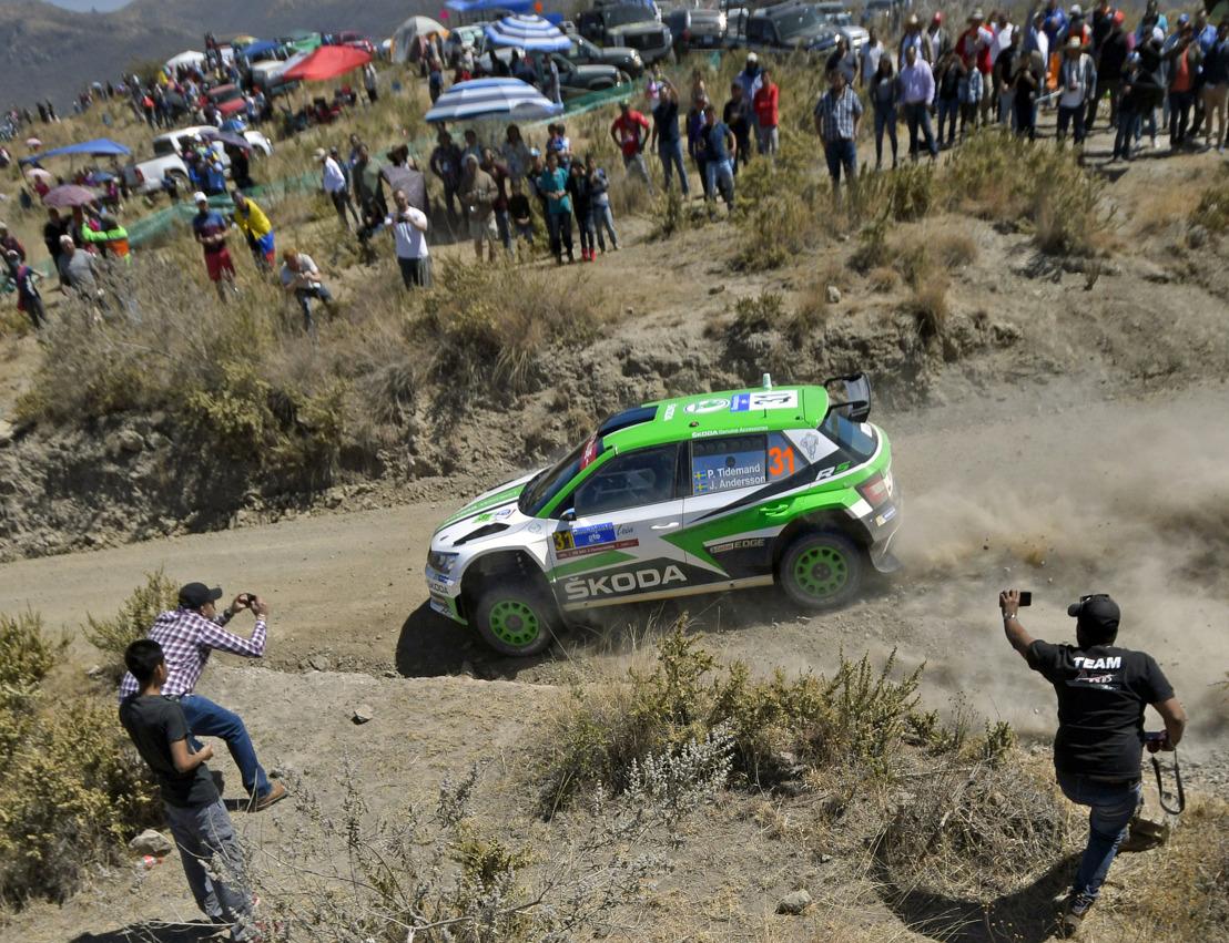 Rally Mexico: ŠKODA Motorsport's Pontus Tidemand dominates WRC 2 category