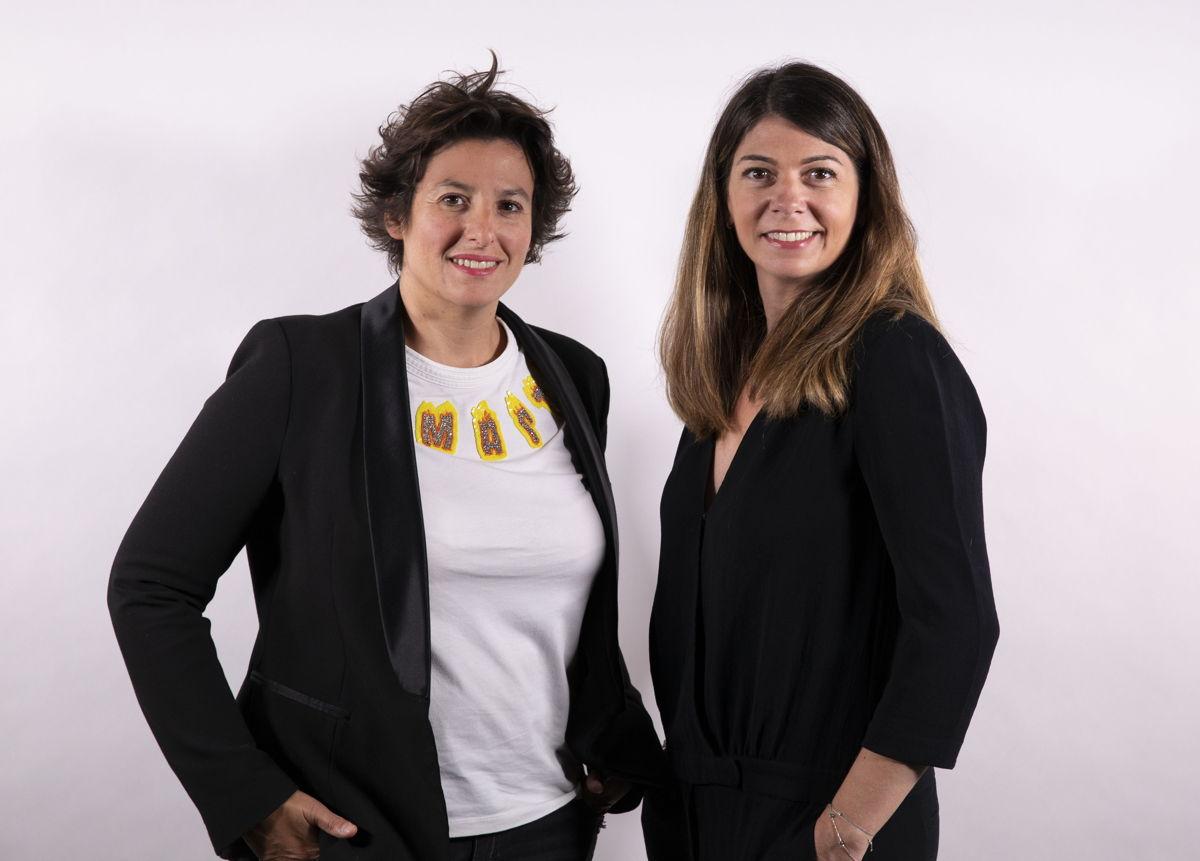De gauche à droite : Christine Turk (Directrice des Opérations de melty), Séverine Autret (Directrice Générale de FF Paris )