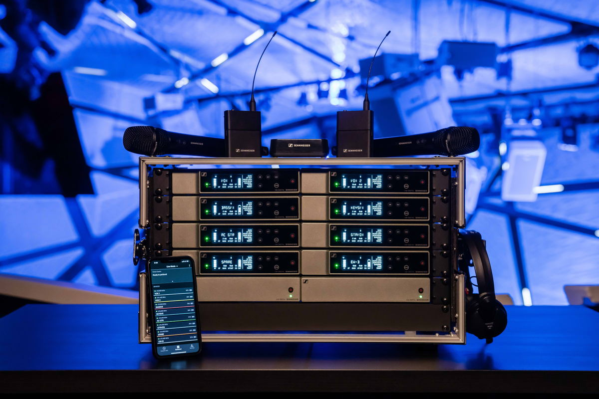 With an app-based workflow and many professional features under the hood, Evolution Wireless Digital makes wireless easy