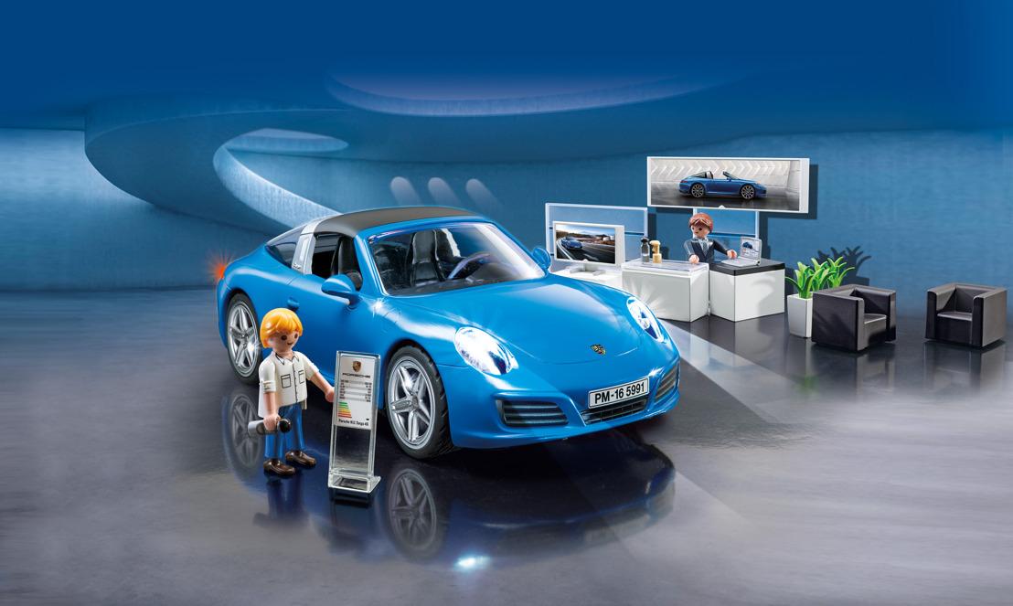 Primeur! PLAYMOBIL introduceert miniatuurversie van de iconisch Porsche 911 Targa 4S