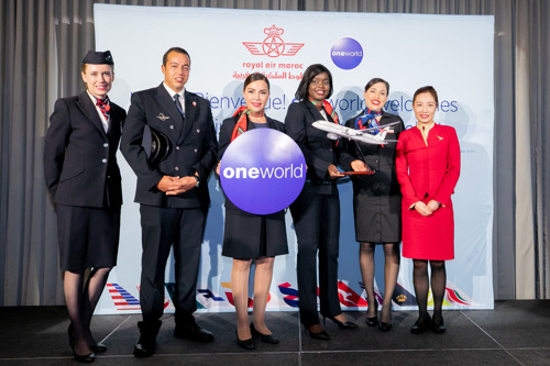 السلام (Salaam) ! oneworld welcomes Royal Air Maroc