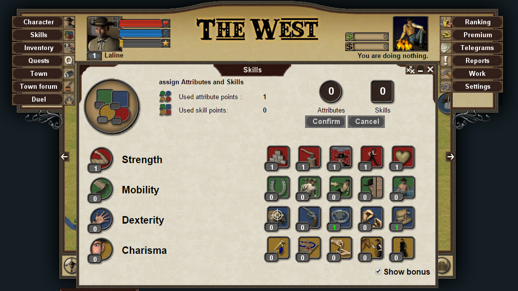 The West classic version