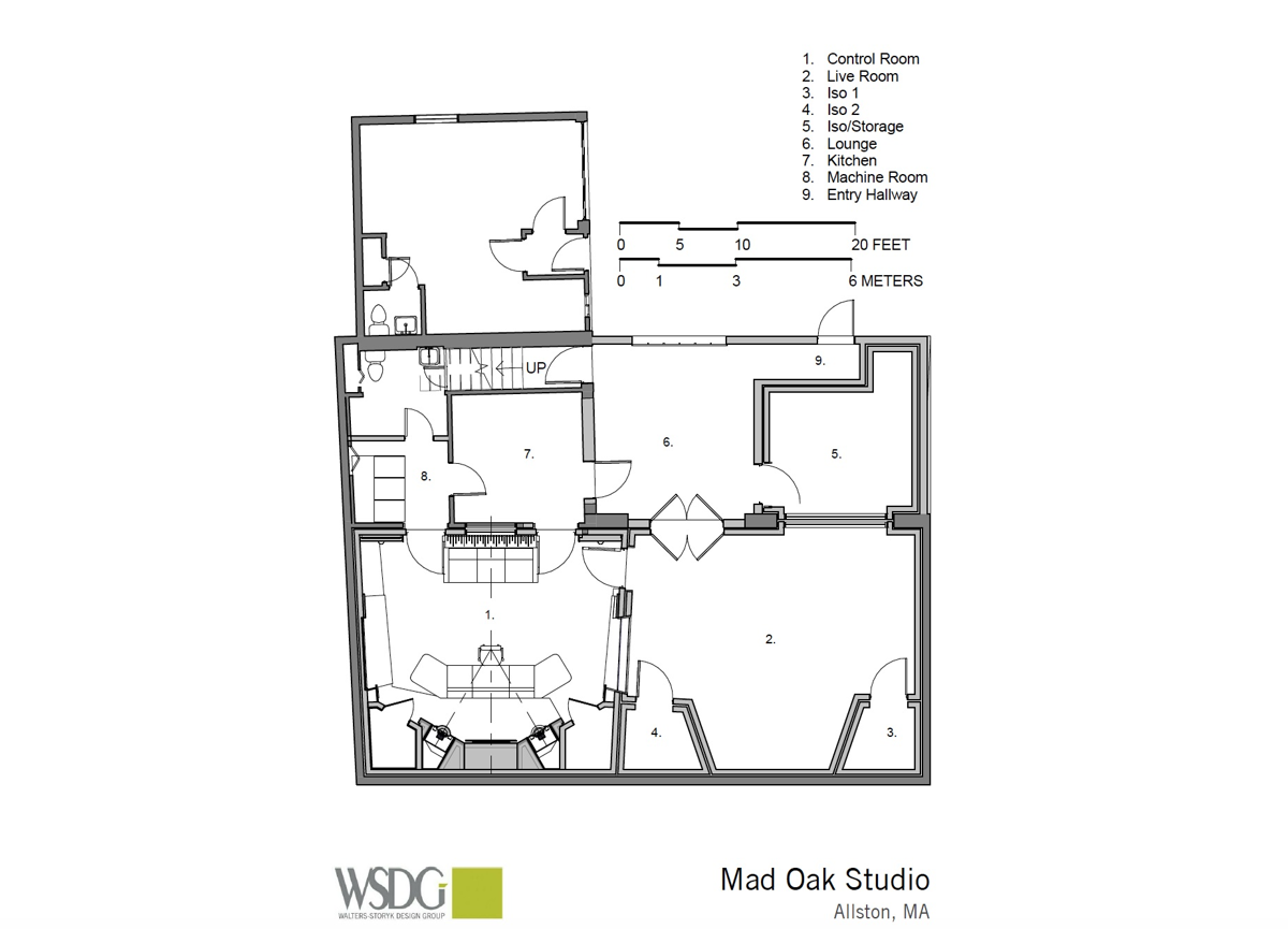 Mad Oak Studios presentation drawing courtesy WSDG