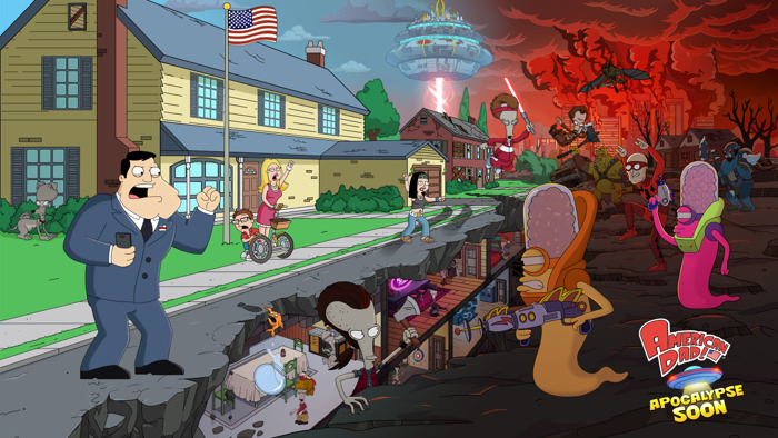 Preview: American Dad! Apocalypse Soon is Now Available for iOS and Android