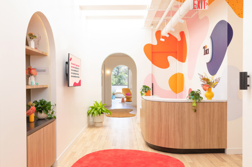Alda Ly Architecture Designs Bold, Vibrant Space for Tia's New Los Angeles Outpost