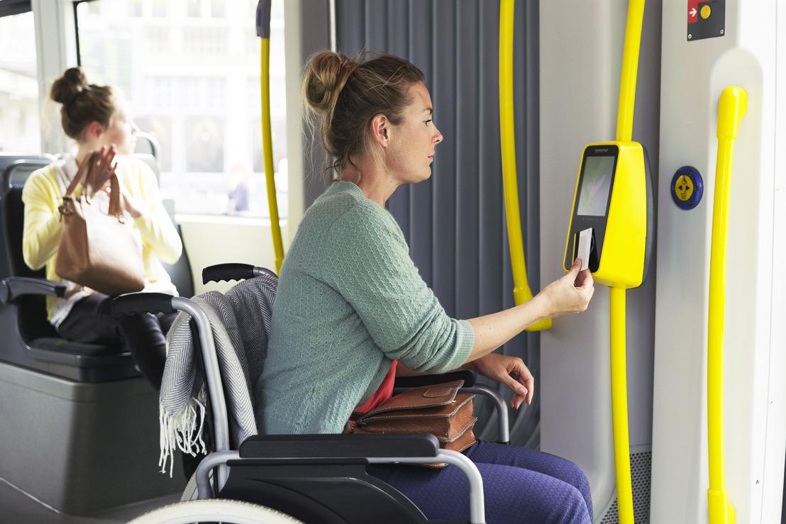 Rolstoelgebruikers moeten niet meer reserveren op 57 bus- en tramlijnen