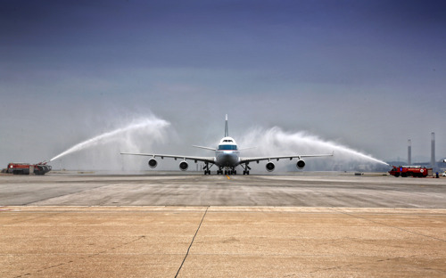Cathay Pacific's passenger 747 aircraft enters retirement following Victoria Harbour flyover
