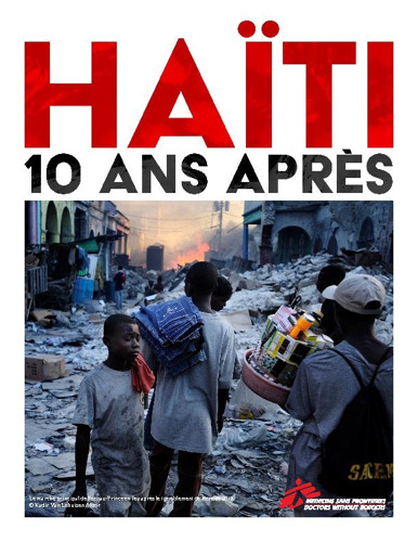 Haïti: 10 ans après le séisme, les structures de santé sont au bord de l'effondrement