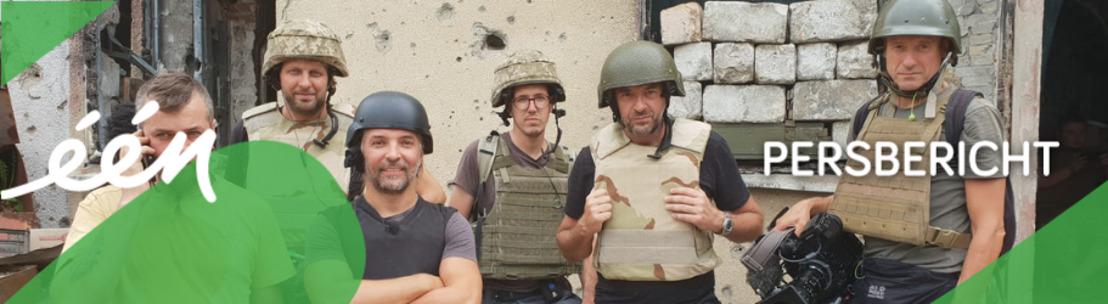 Tom Waes aan het front in tweede aflevering over Oekraïne