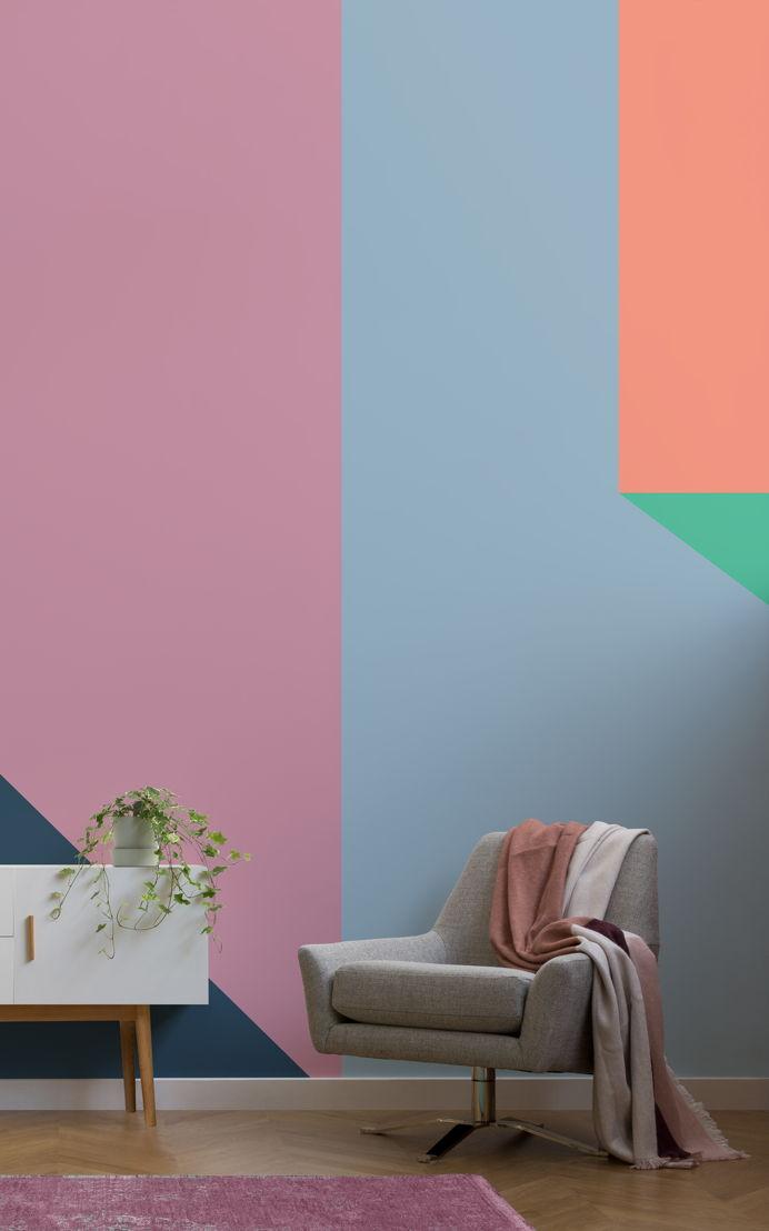 Rarig Colour Block Wall Mural