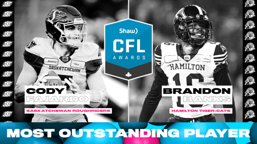 SHAW CFL AWARDS NOMINEES AVAILABLE TO THE MEDIA