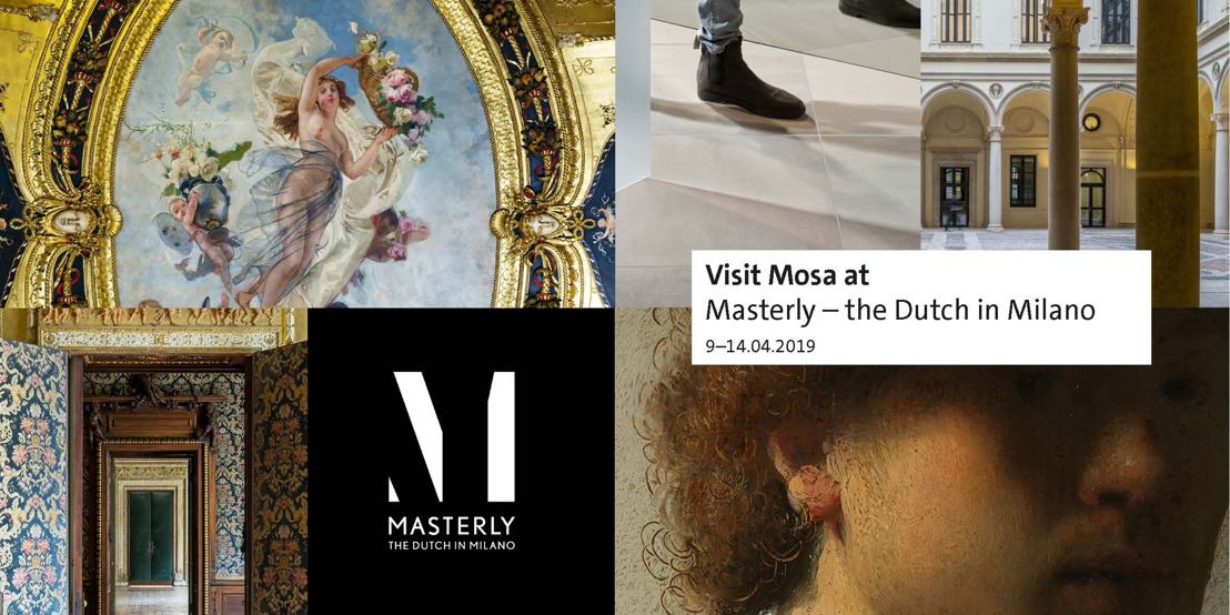 Mosa à l'exposition « Masterly - The Dutch in Milano »