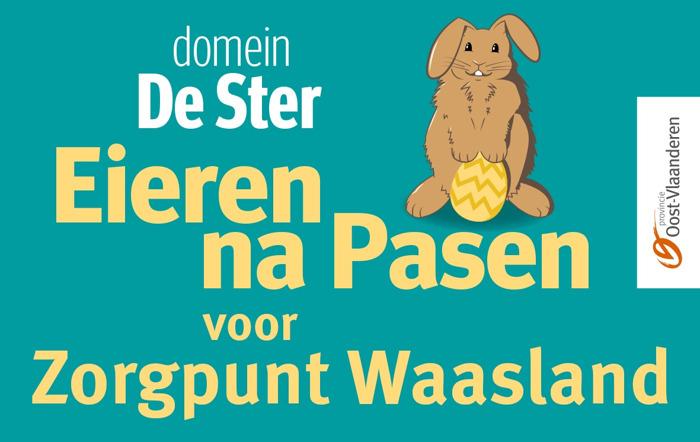 Preview: Provinciaal domein De Ster schenkt 8 000 paaseieren aan de bewoners en personeelsleden van Zorgpunt Waasland
