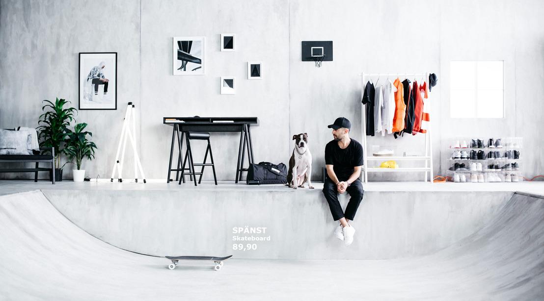 IKEA x Chris Stamp: zet jouw stijl in de kijker met de nieuwe SPÄNST collectie