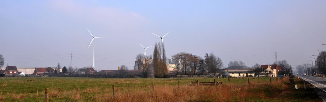 Burgemeester Wielsbeke geeft eerste spadesteek  voor Storm-windpark