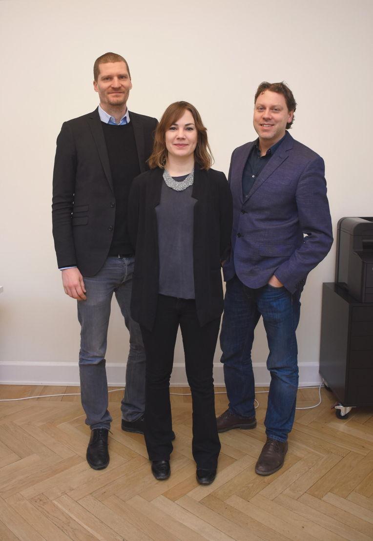 Richard Von Yxkull, Erika Vestman en Joel Wahlström