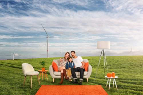 Een dividend van 4,4% voor de coöperanten van Luminus Wind Together*