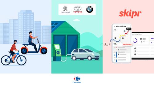 Semaine de la Mobilité – Carrefour encourage ses collaborateurs à faire le pas vers la mobilité multimodale