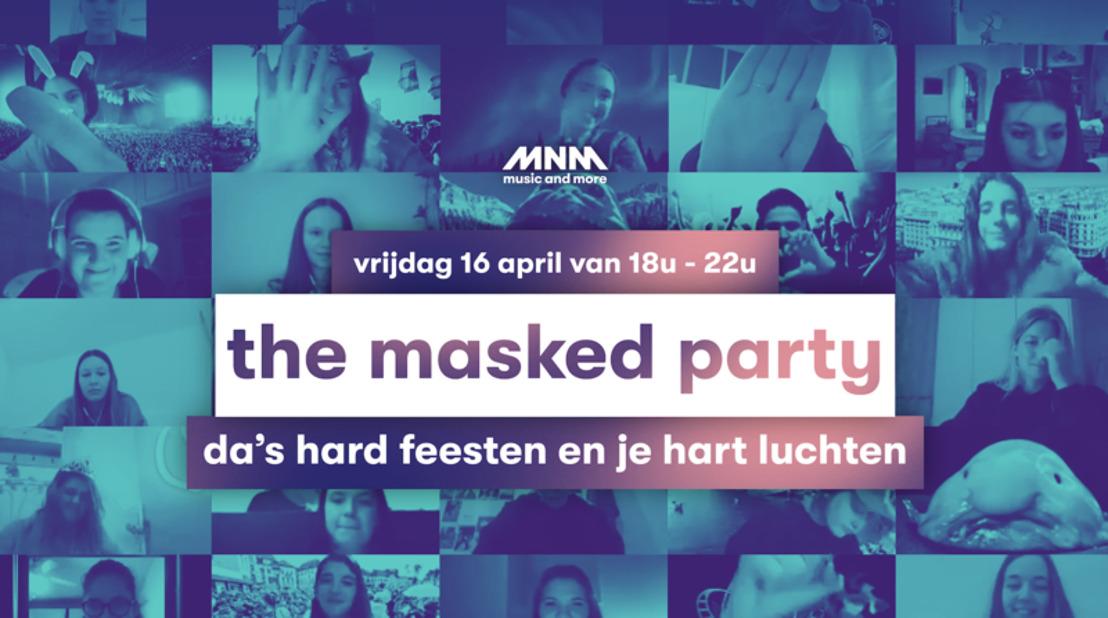 2.500 feestvierders op The Masked Party