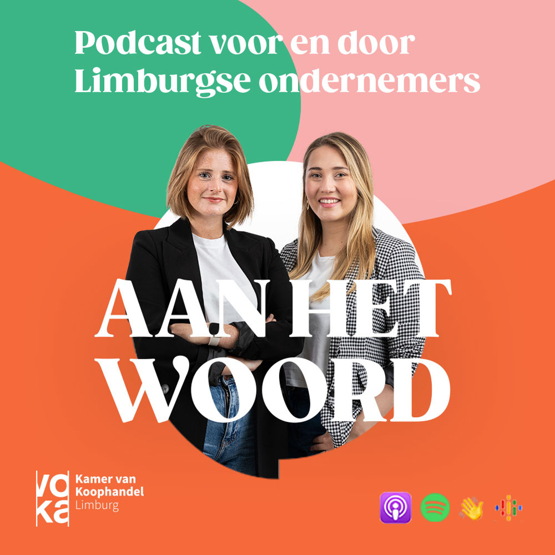 Voka – KvK Limburg lanceert podcast over ondernemerschap