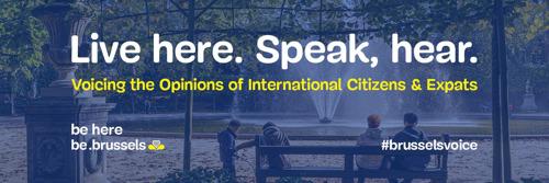 Een bruisende Europese wijk, Engels als officiële taal en minder verkeer… internationale Brusselaars delen hun ideeën voor Brussel.