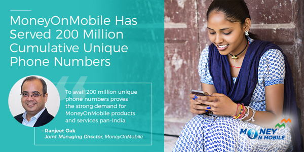 Preview: MoneyOnMobile Has Served 200 Million Cumulative Unique Phone Numbers