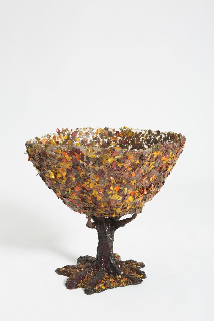 Gaetano Pesce: Tree Vase 4 at The Peninsula Chicago