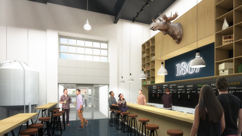 MOOSEHEAD UNVEILS CONCEPT AND DESIGN FOR NEW SMALL BATCH BREWERY